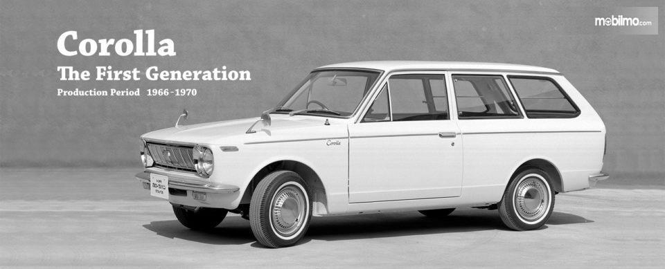 Gambar Toyota Corolla generasi pertama