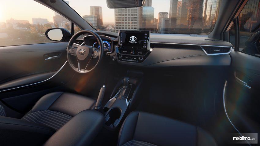 Gambar dasbor Toyota Corolla Altis 2019