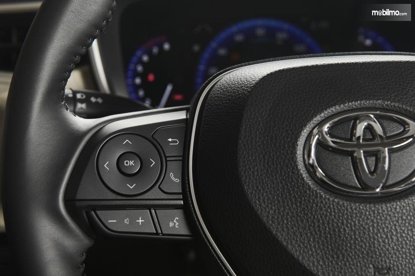Gambar kemudi Toyota Corolla Altis 2019