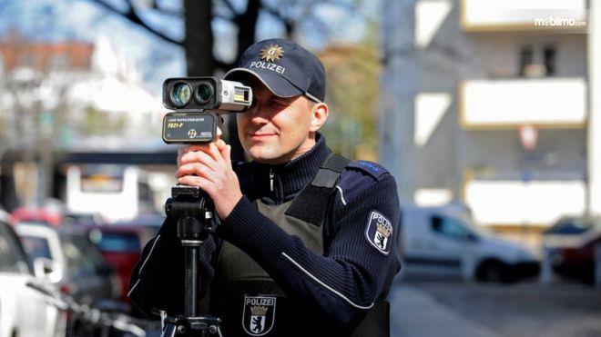Gambar kamera batas kecepatan