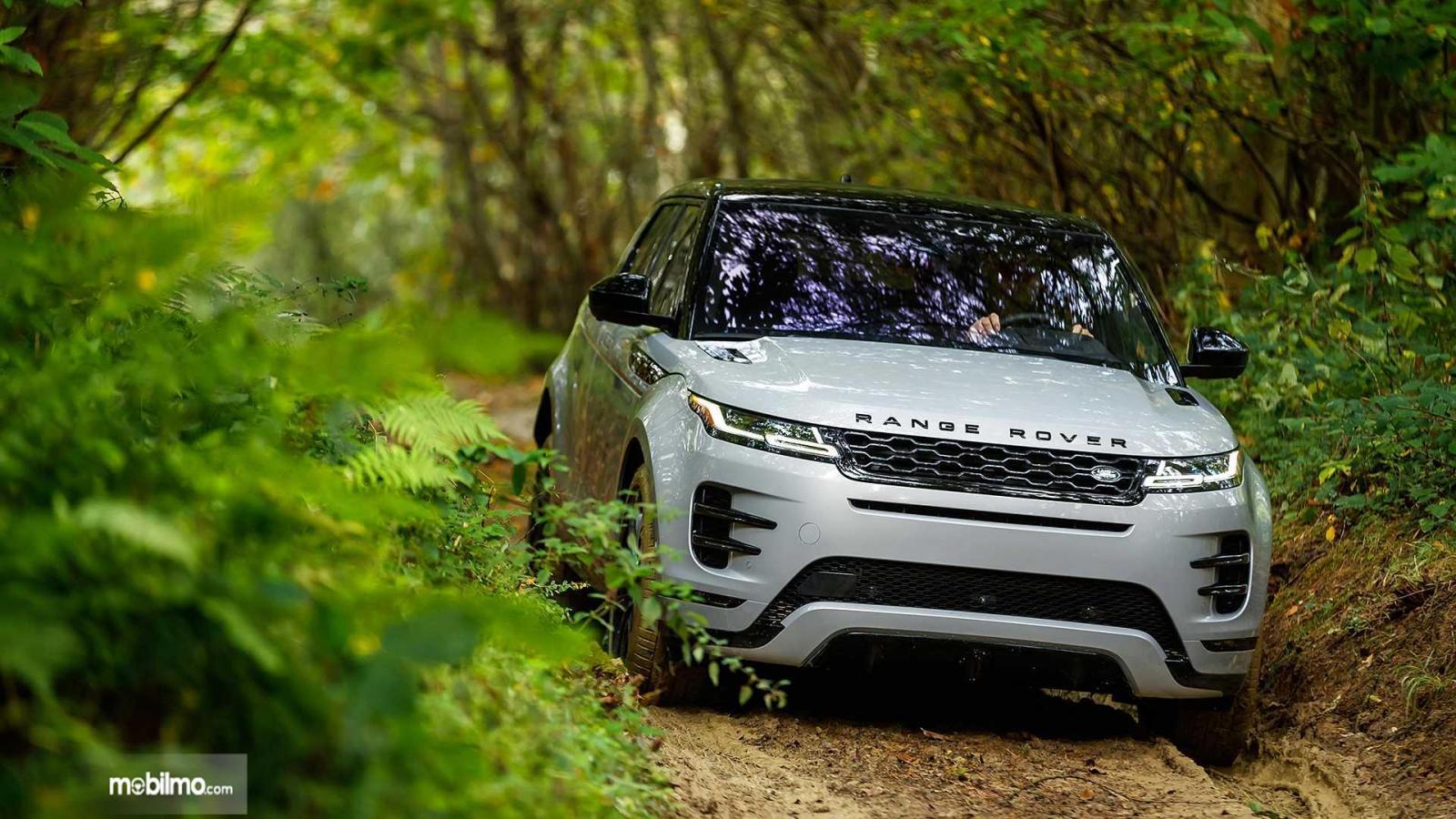 Gambar pengendaraan off-road Land Rover Range Rover 2019
