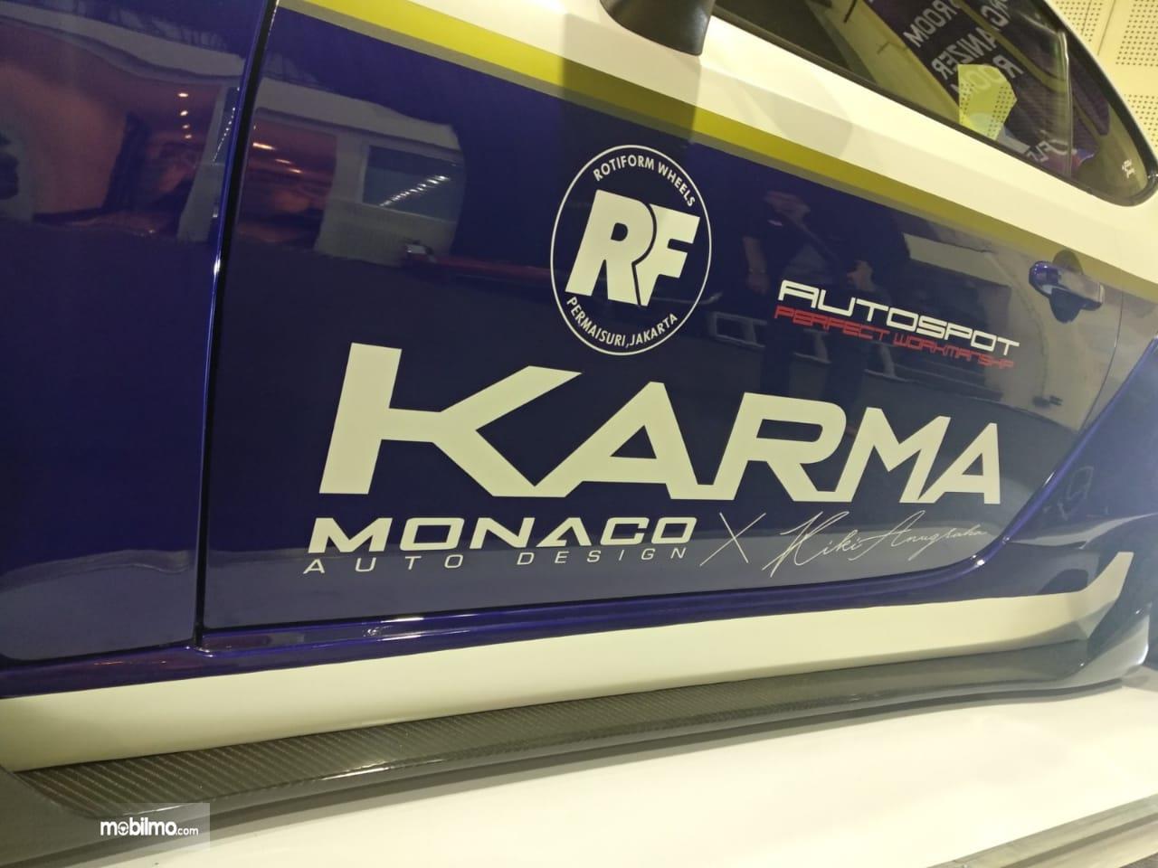 Gambar KARMA dan Monaco Auto Desain