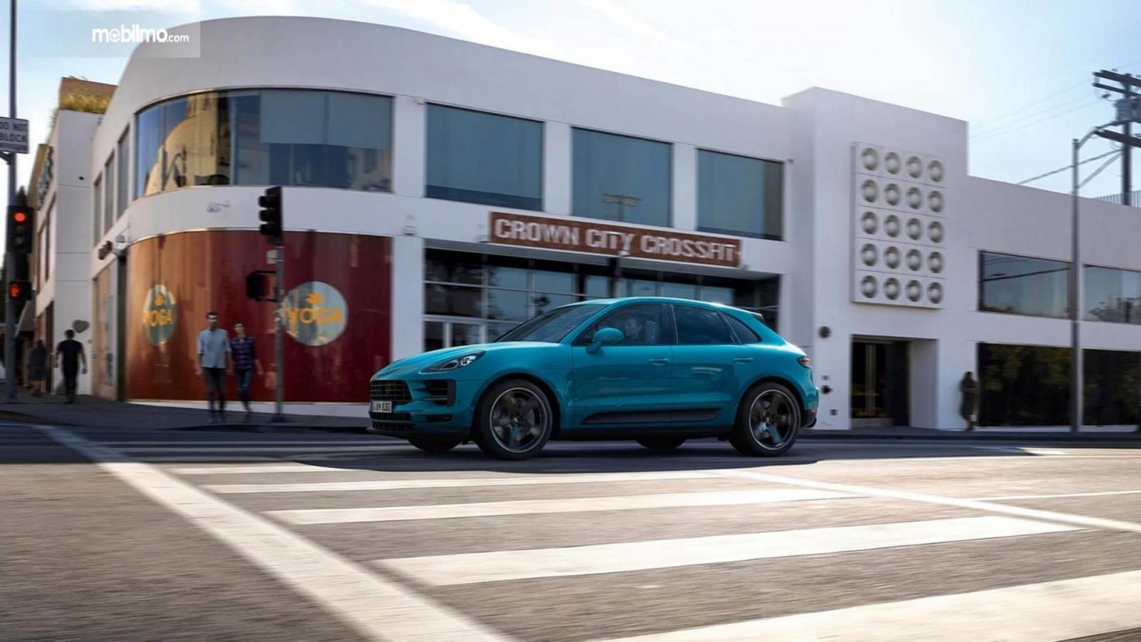 Gambaar tampilan terbaru Porsche Macan 2019