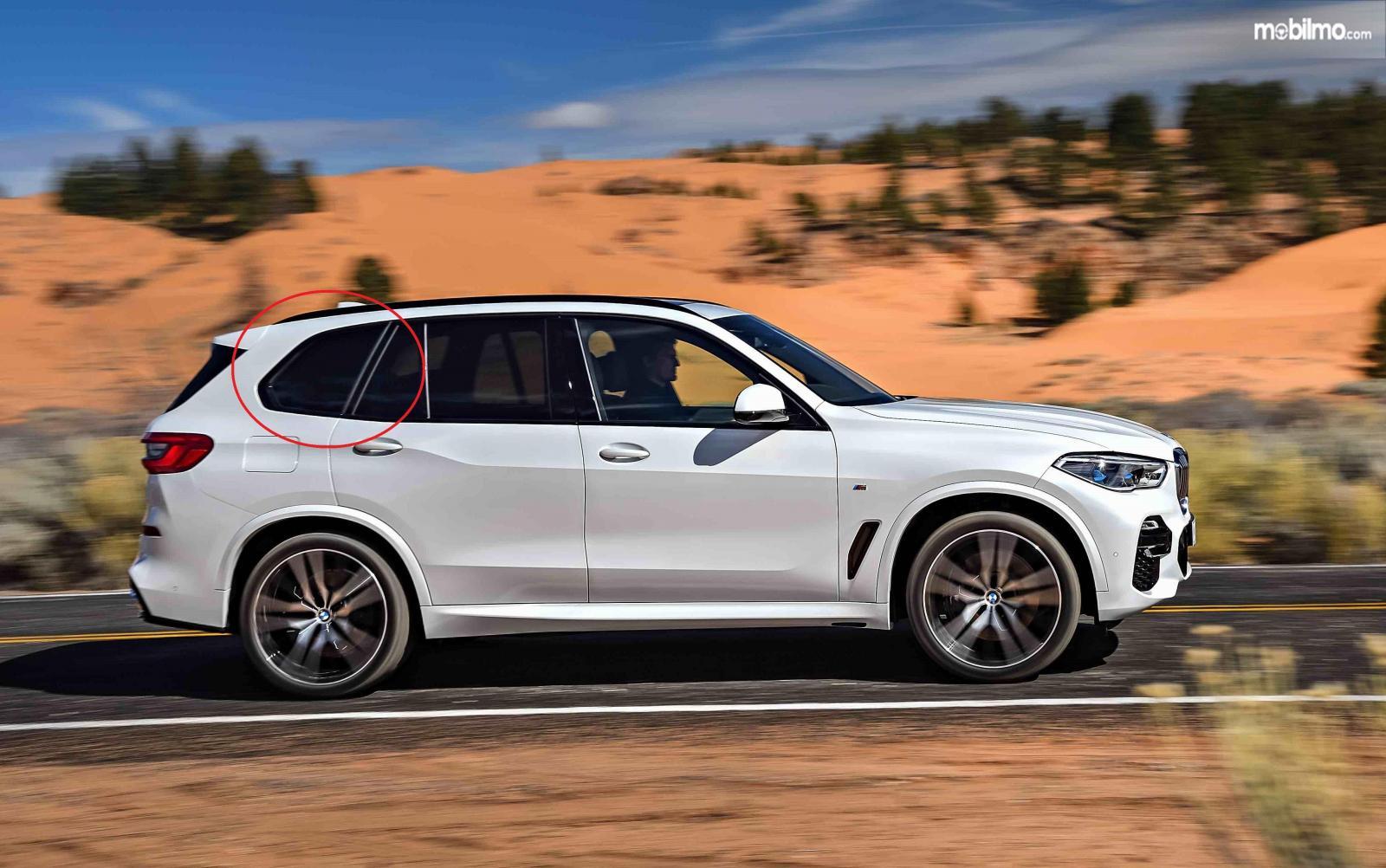 Foto bagian samping BMW X5 2019