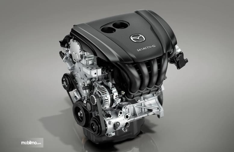Gambar mesin Mazda 3 2019