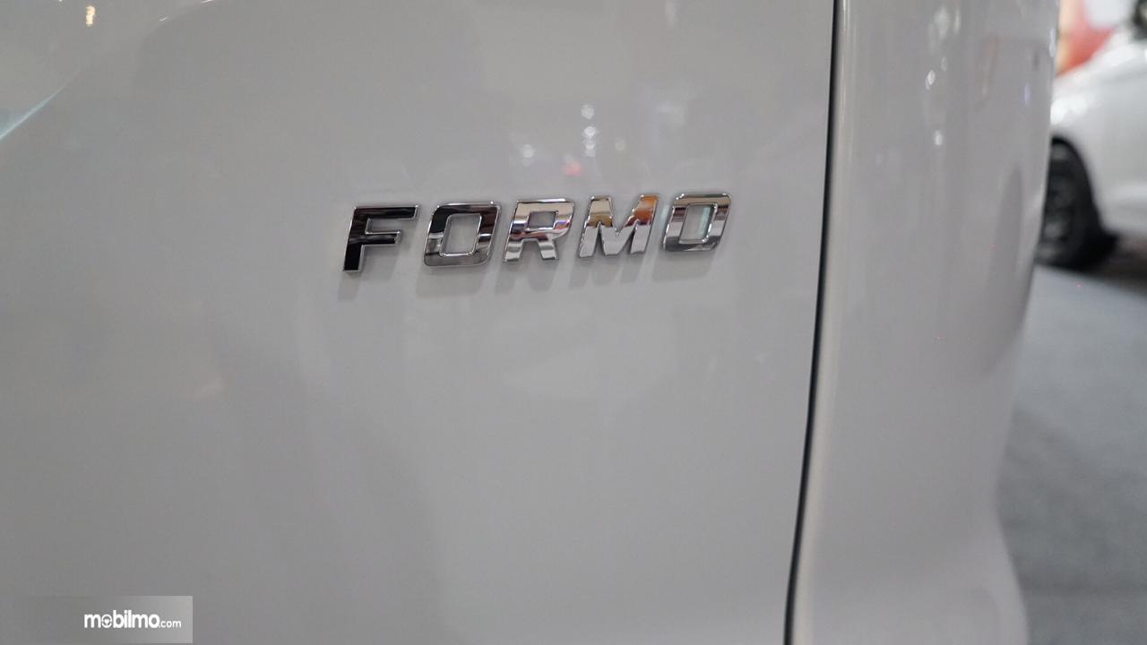 Kesimpulan pada Wuling Formo Passanger Van 2018