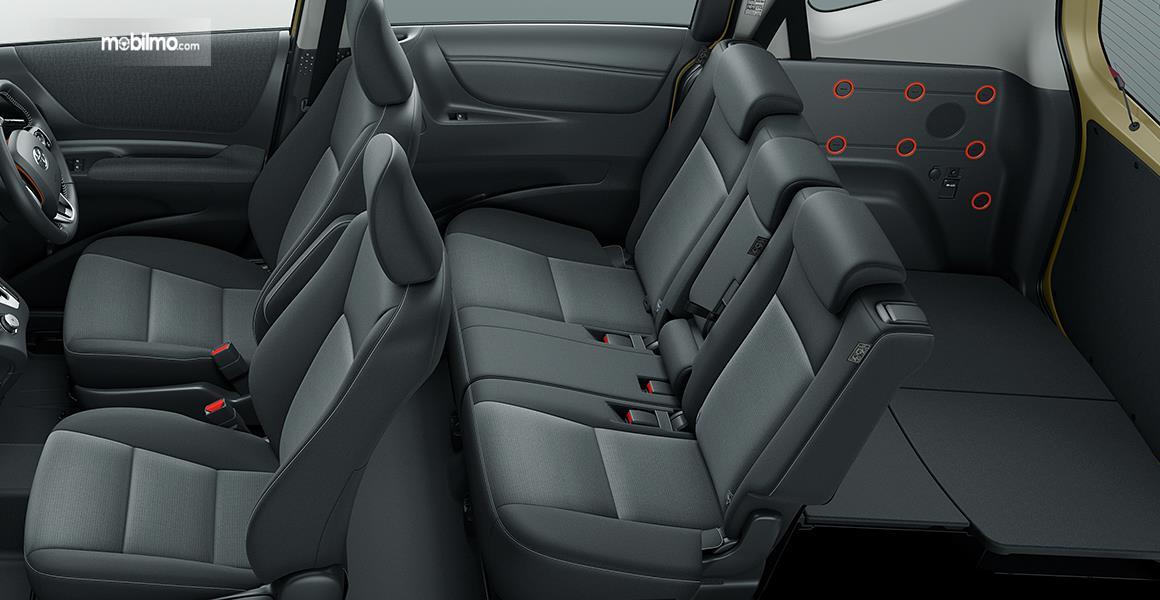 Foto konfigurasi Toyota Sienta 5 seater