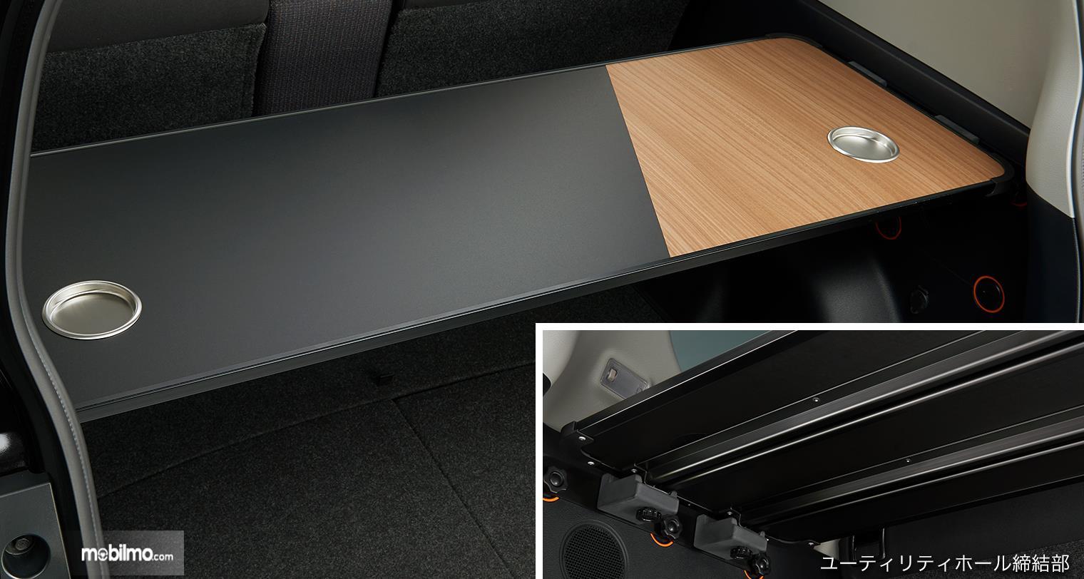 Foto bagasi Toyota Sienta 5 seater