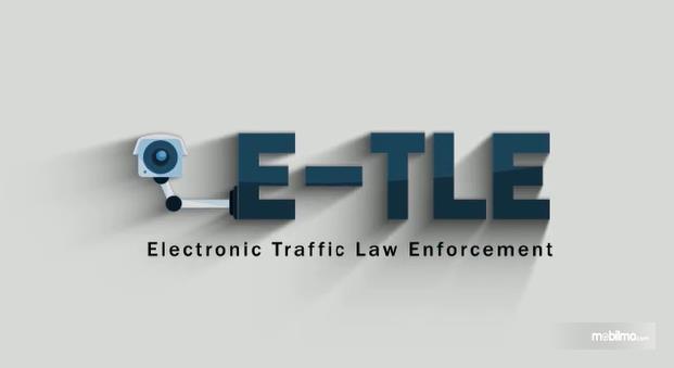 Gambar banner tilang elektronik