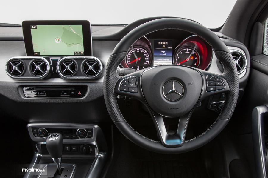 Gambar bagian Setir mobil Mercedes-Benz X-Class 2019