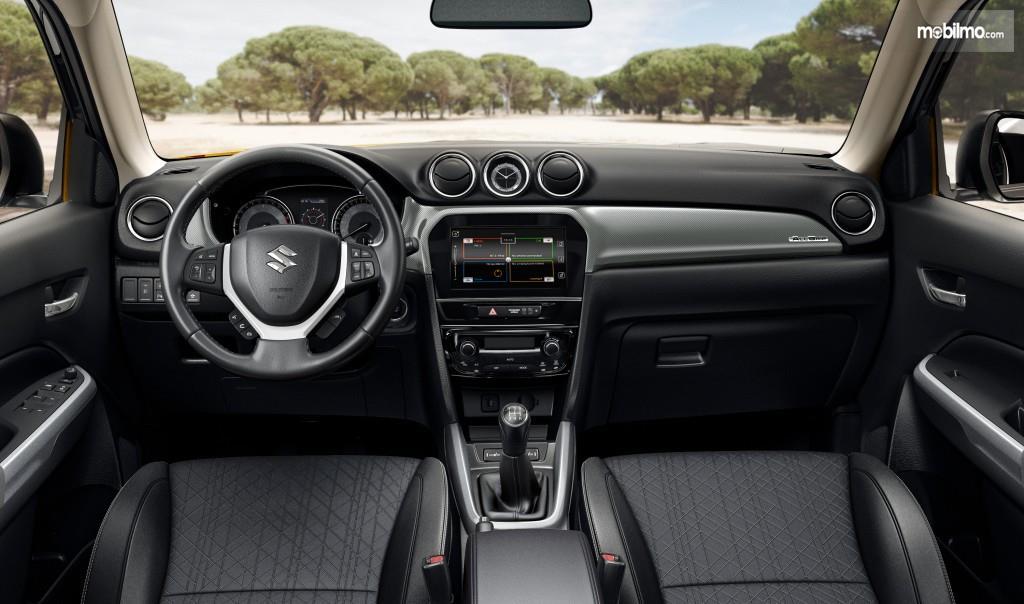 Layout dasbor sebuah All New Suzuki Vitara 2019