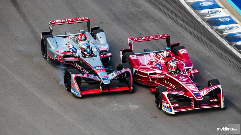 Gambar balapan Formula E