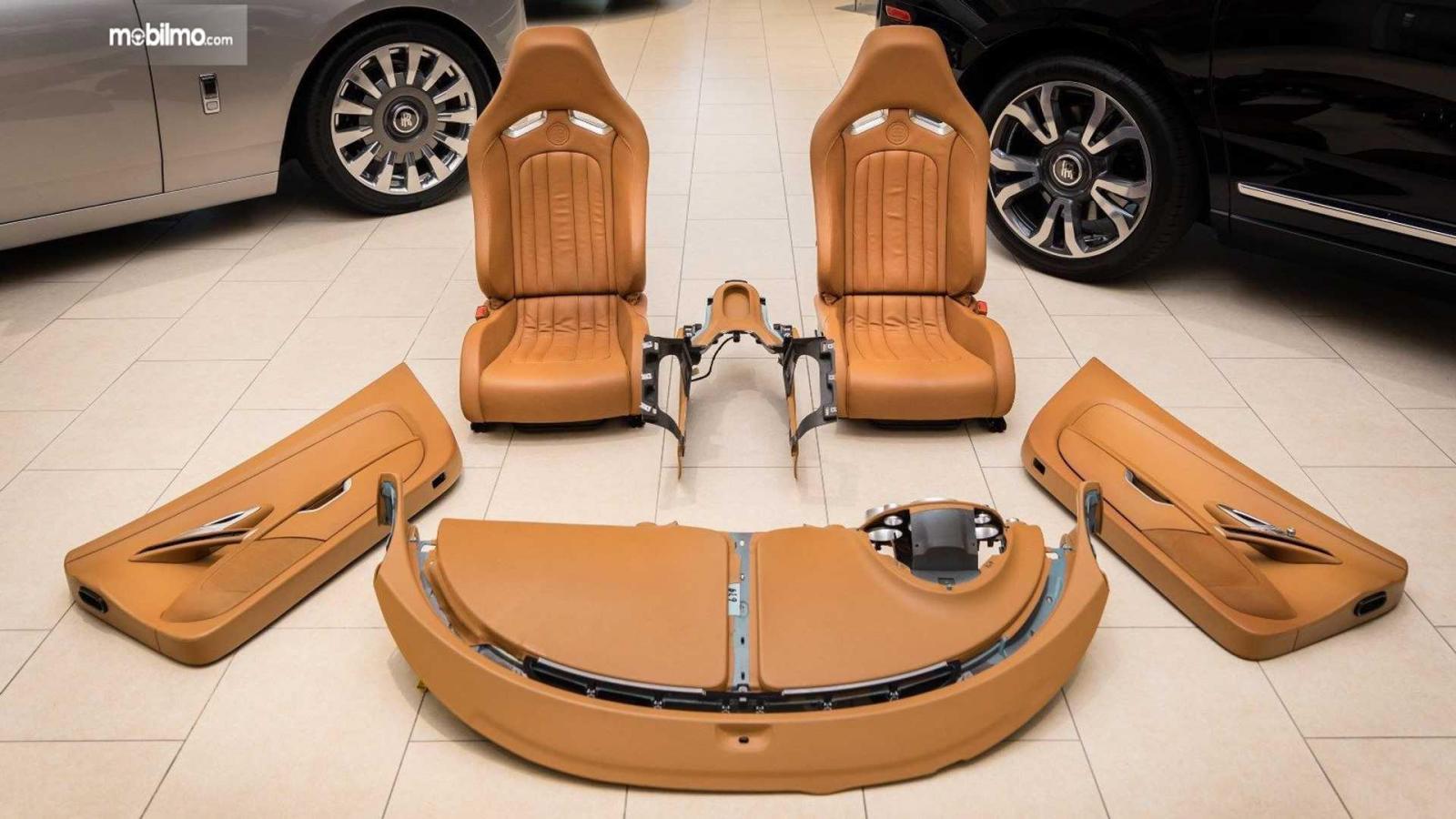 Gambar interior Bugatti Veyron
