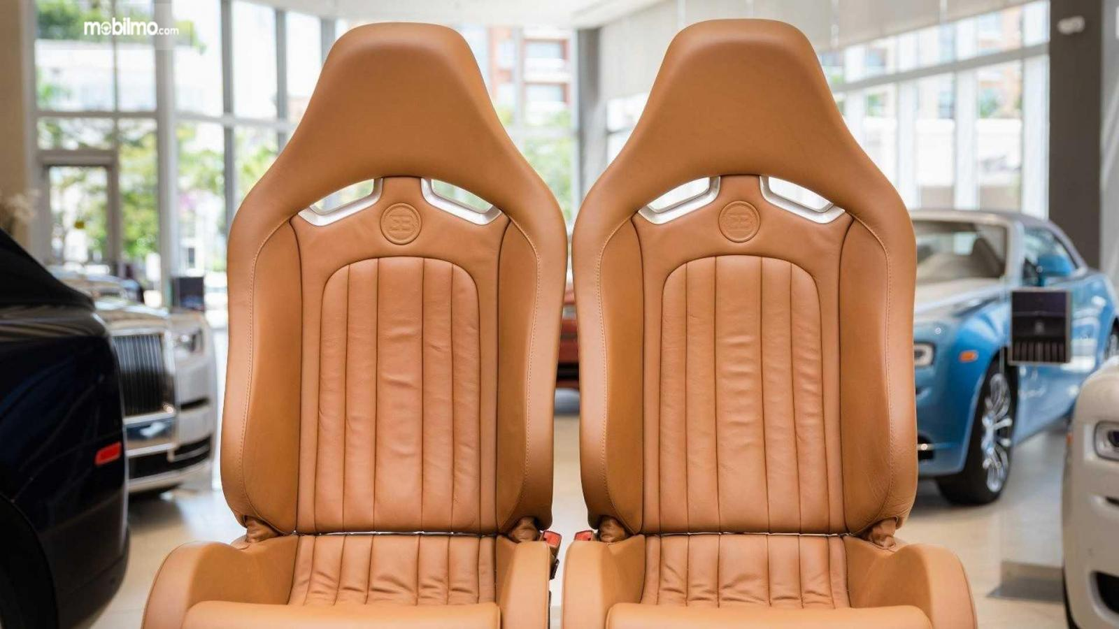 Gambar kursi Bugatti Veyron