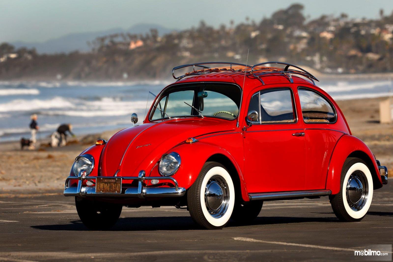 Gambar Volkswagen Beetle yang sudah direstorasi