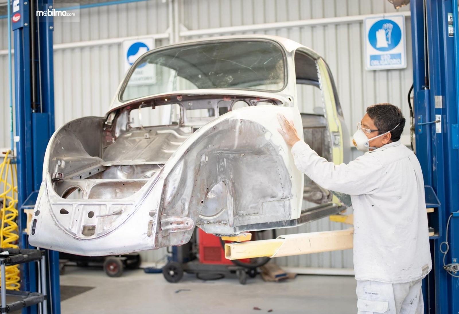Gambar restorasi VW Beetle