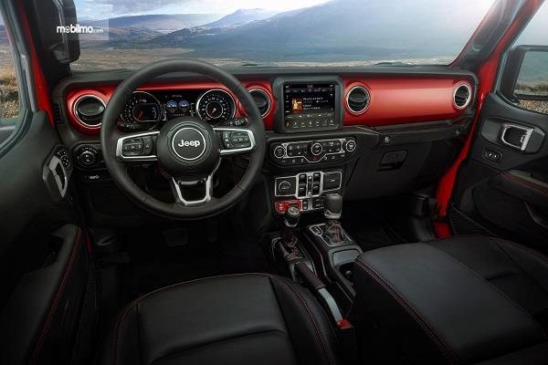 Gambar dasbor Jeep Gladiator 2019