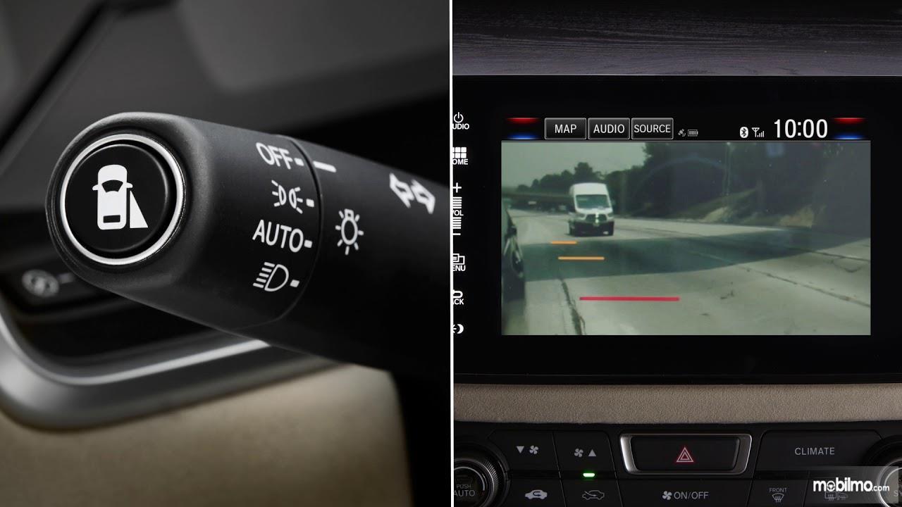Cara aktivasi fitur Honda LaneWatch Technology