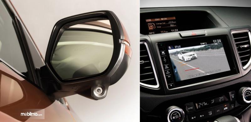 Tampak Honda LaneWatch Technology dari kacamobil dan layar juga
