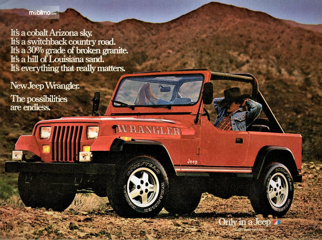 Gambar Jeep Wrangler 1986