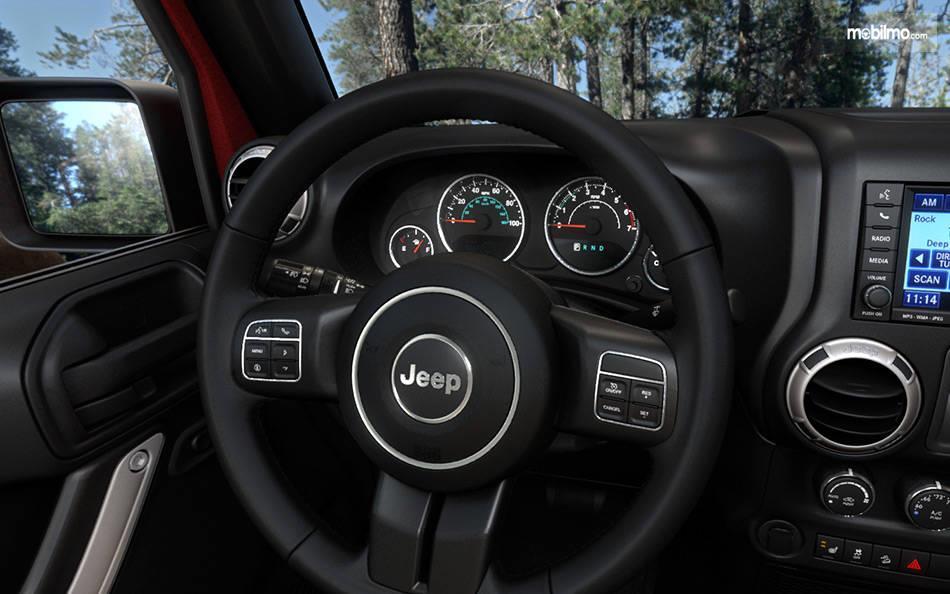 Gambar kemudi Jeep Wrangler JL 2019