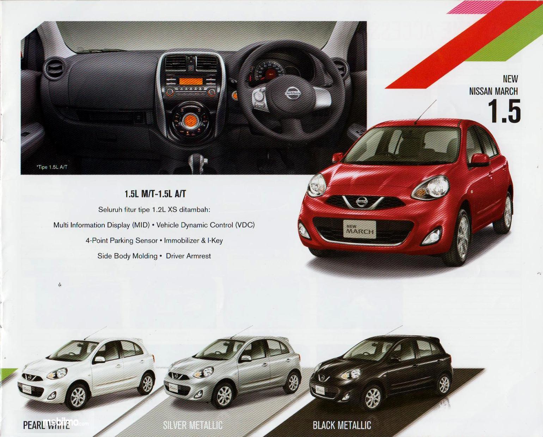 Nissan March bermesin HR15DE dengan kapasitas1500 cc