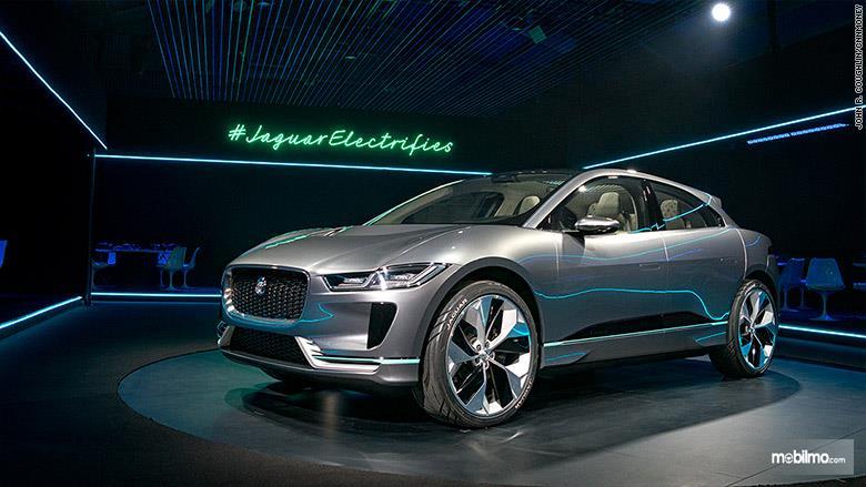 Gambar mobil konsep Jaguar I-Pace 2019