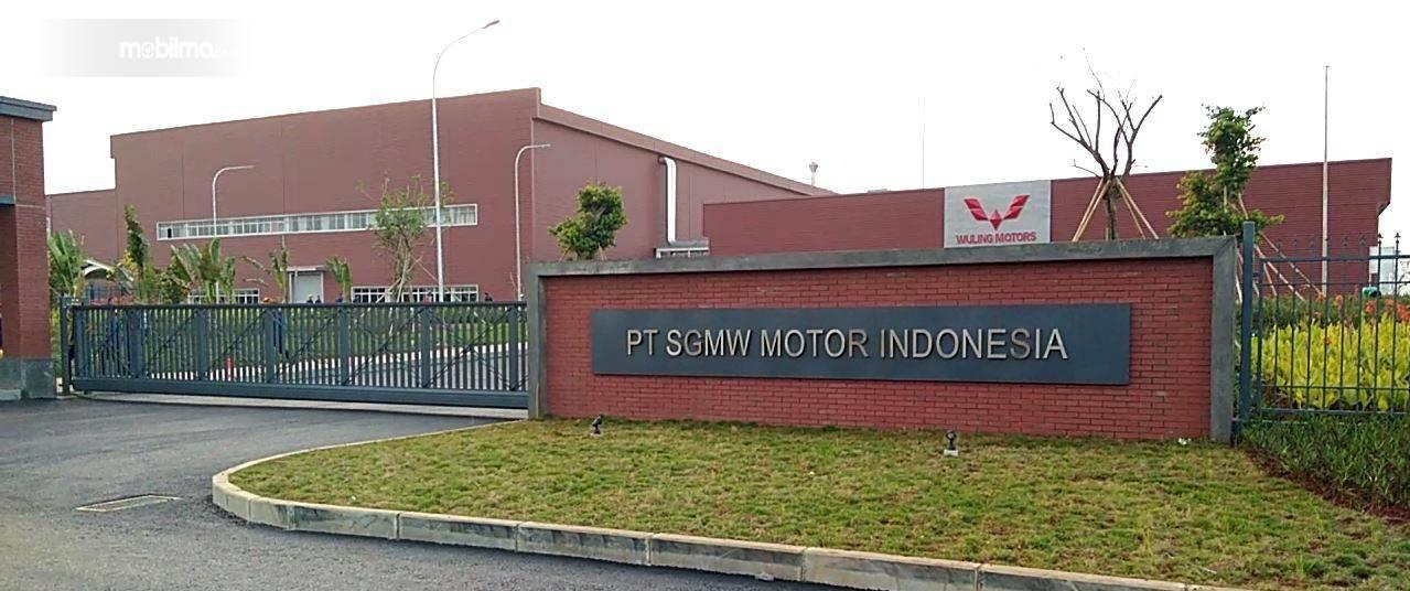 Foto Pabrik Wuling Motors di Cikarang Pusat, Bekasi, Jawa Barat