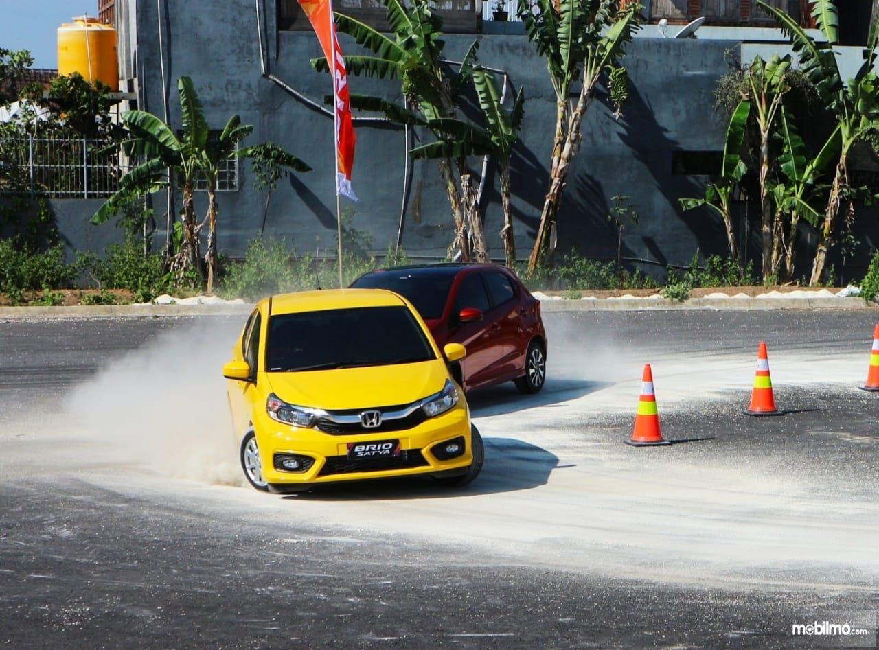 Tampak All New Honda Brio sudah mengusung teknologi i-VTEC