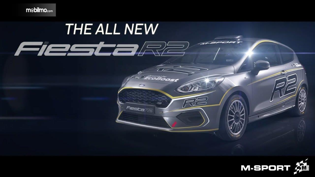 Gambar menunjukkan Brochure The All New Ford Fiesta R2 2019