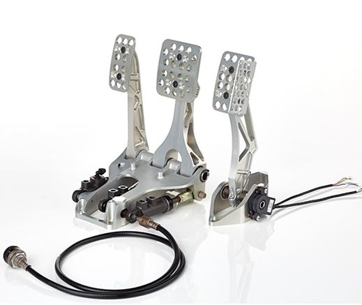 Tampak pedal box Brembo mobil reli Mini All 4 Racing Buggy Dakar 2019