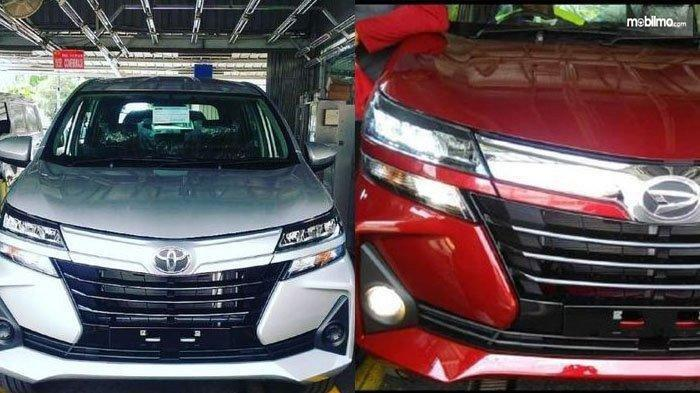Foto wajah Toyota Avanza 2019 dan Daihatsu Xenia 2019 beredar di internet