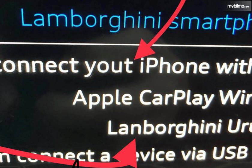 sistem Lamborghini Urus yang salah eja nama Lanborghini