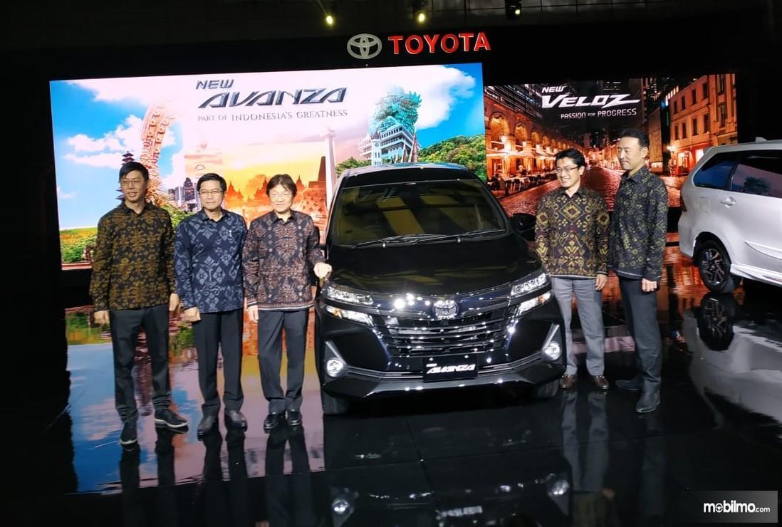 Foto Peluncuran Toyota Avanza 2019 di Fairmont Hotel