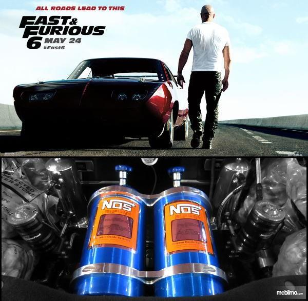NOS sangat dipengaruhi oleh film The Fast And The Furious