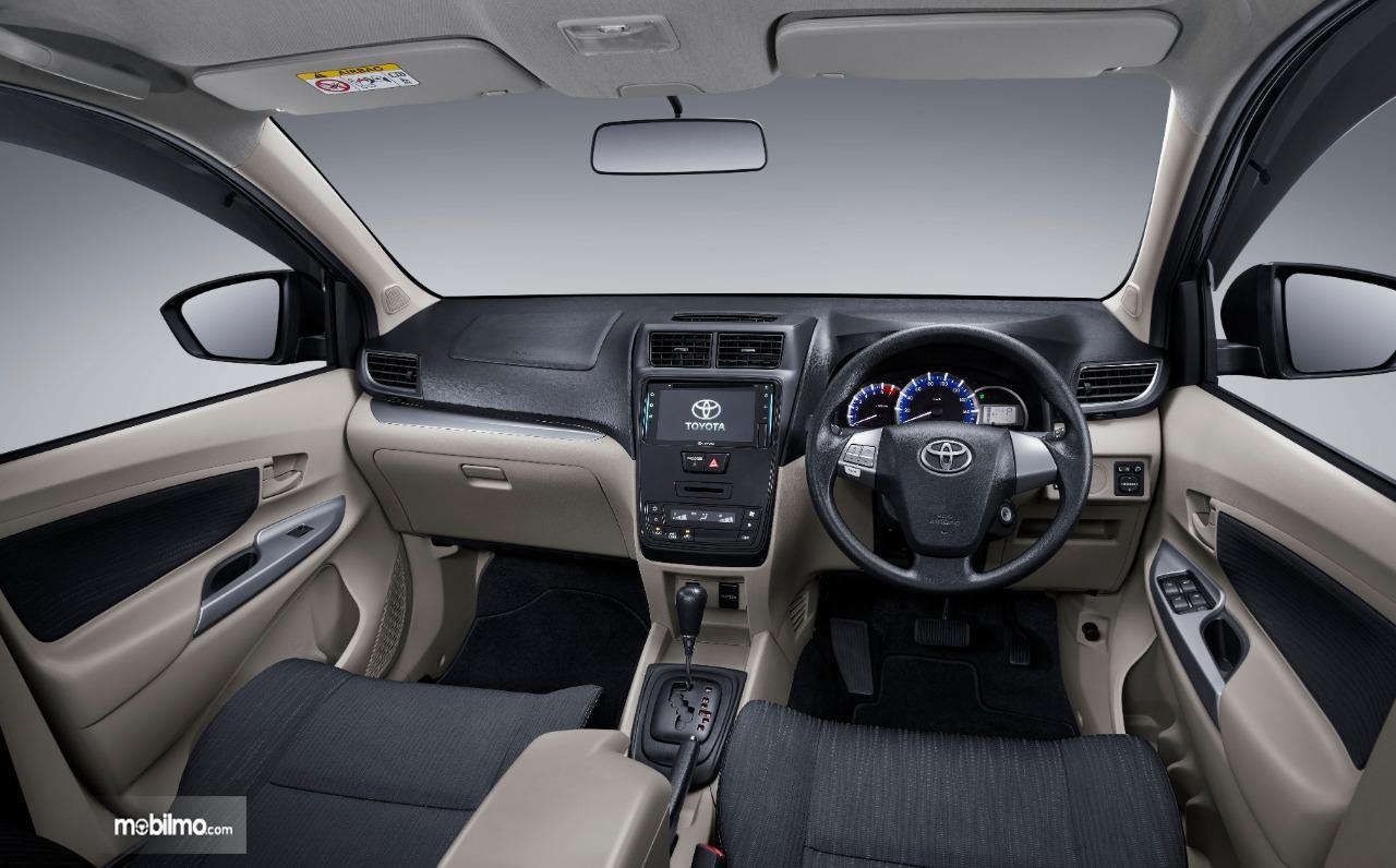 Tampak Layout dasbor New Toyota Avanza 1.5 G M/T 2019