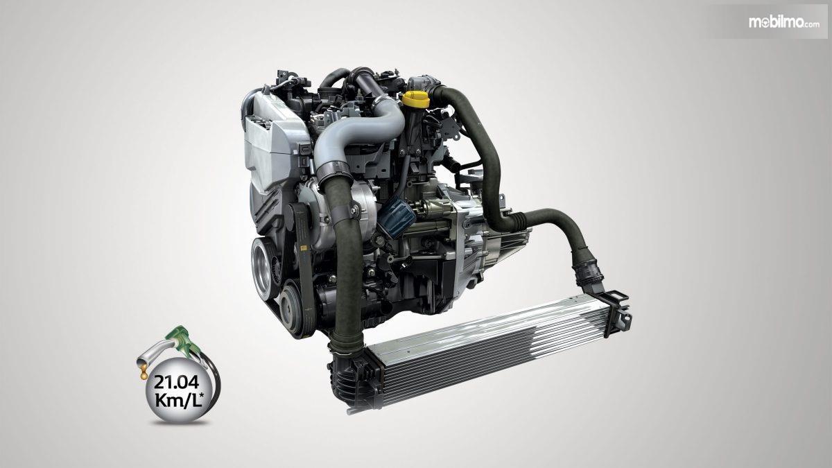 Gambar menunjukkan bagian Mesin K9K Nissan Kicks 2019