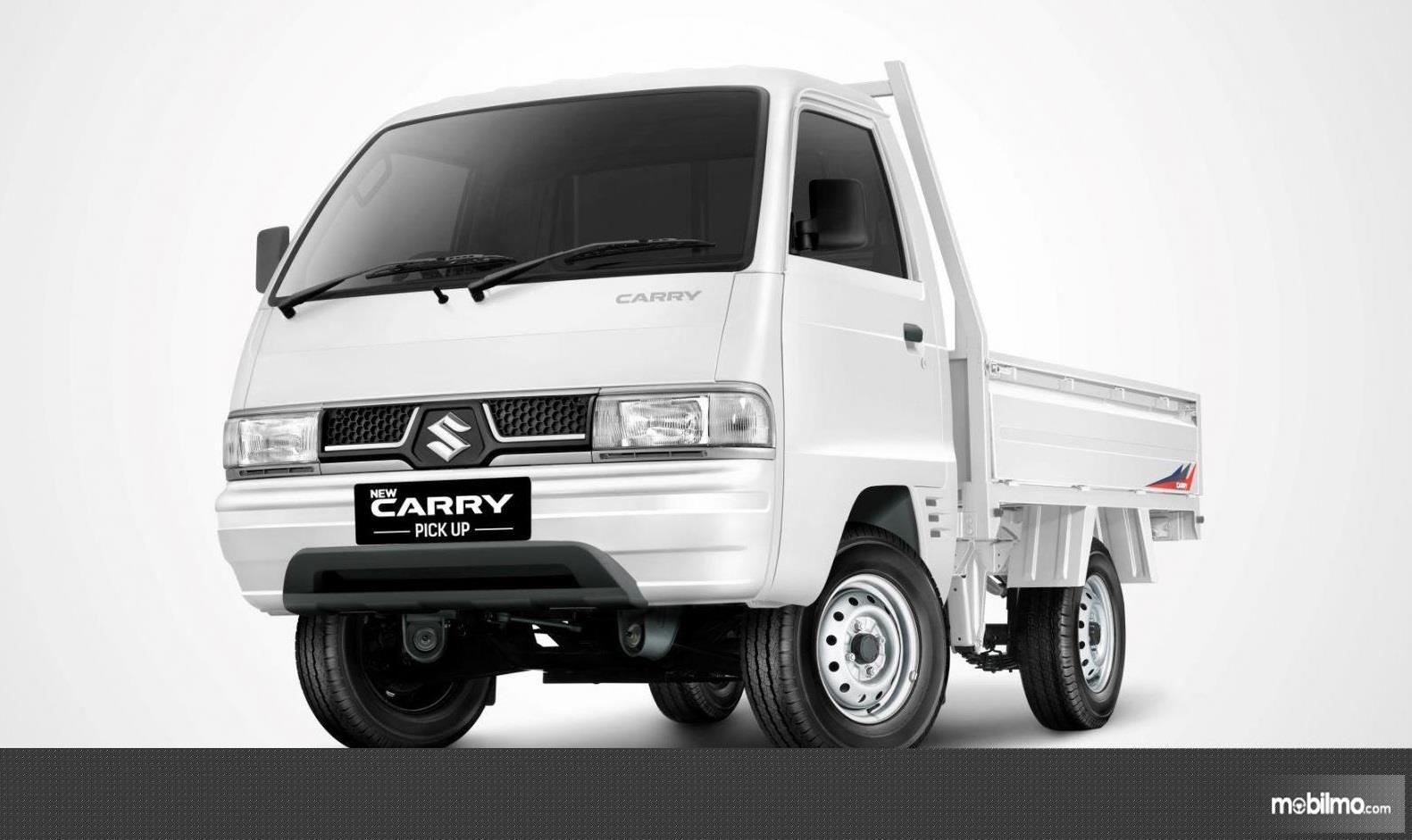 Foto Suzuki Carry Pick Up tampak dari samping depan
