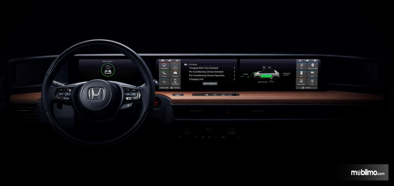 Foto interior mobil listrik Honda