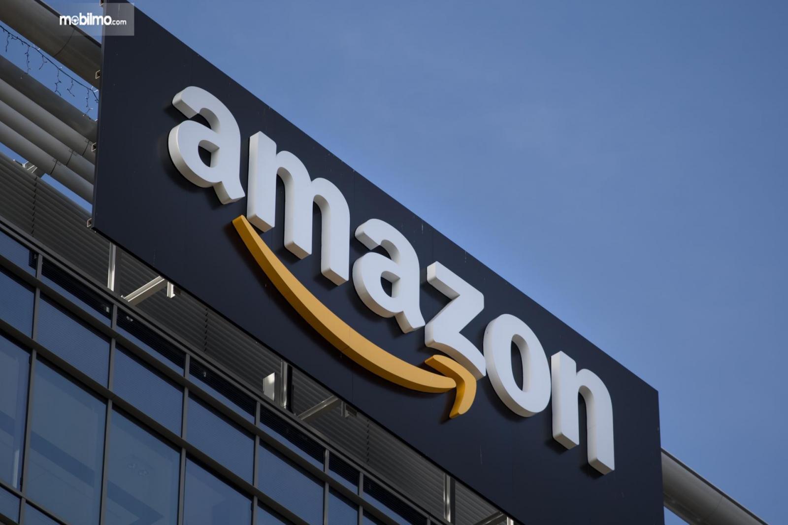 Foto logo khas Amazon