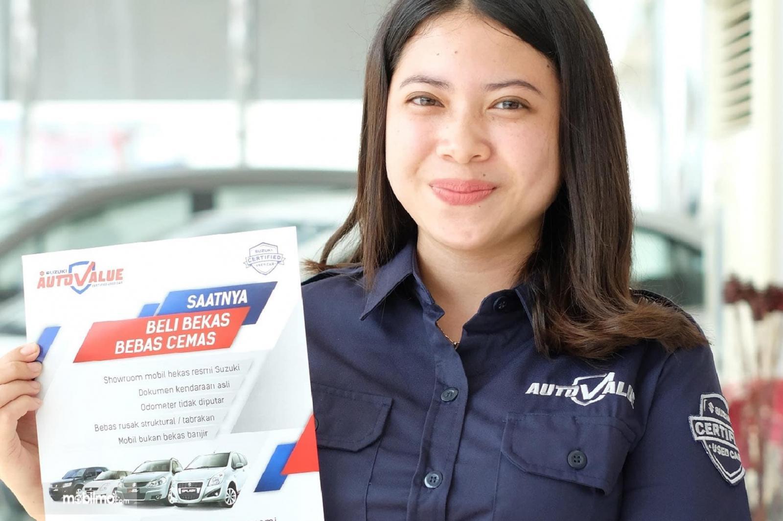 Banner promosi Suzuki Auto Value