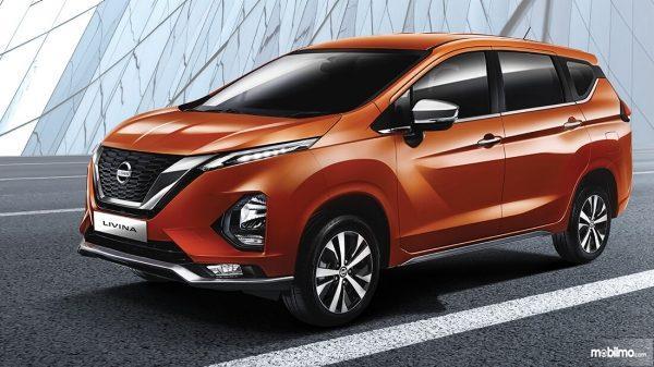 Tampilan depan Nissan Livina 2019 terlihat lebih elegan