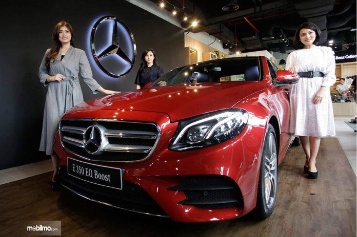 Mercedes-Benz E 350 EQ Boost diperkenalkan di awal tahun 2019