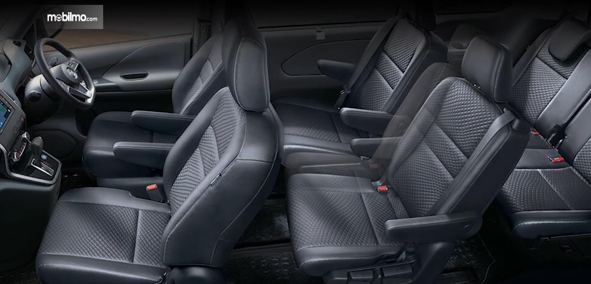 Gambar ini menunjukkan interior dari All New Nissan Serena 2019