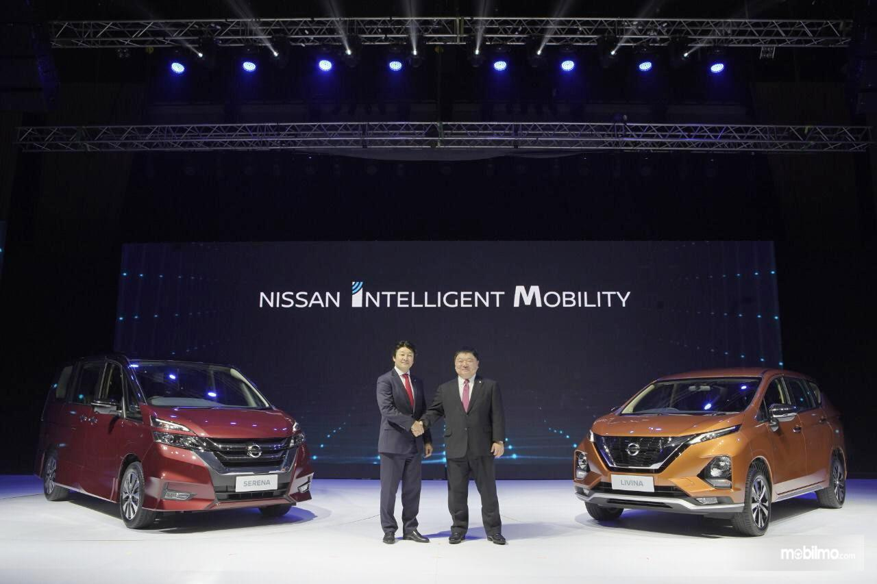 Foto Peluncuran Nissan Livina dan Nissan Serena