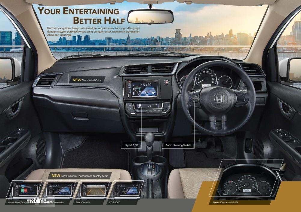 Foto Interior mewah Honda Mobilio 2019