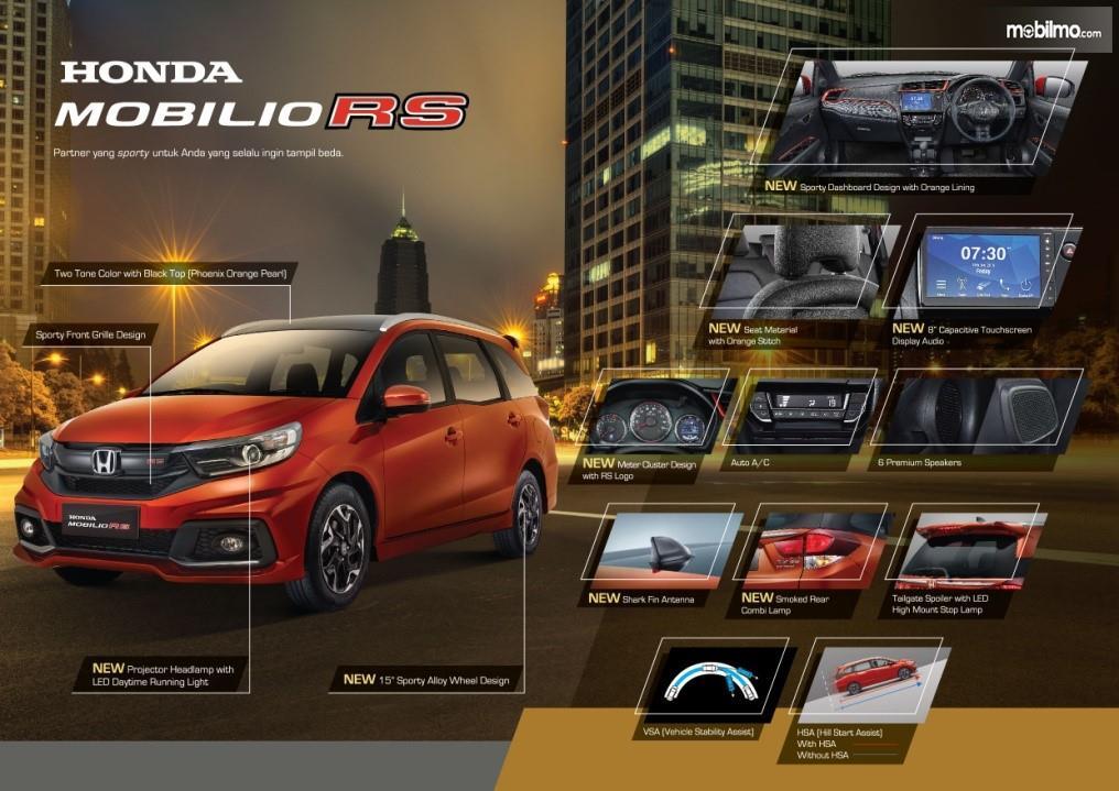 Banner Honda Mobilio RS 2019 eksterior interior