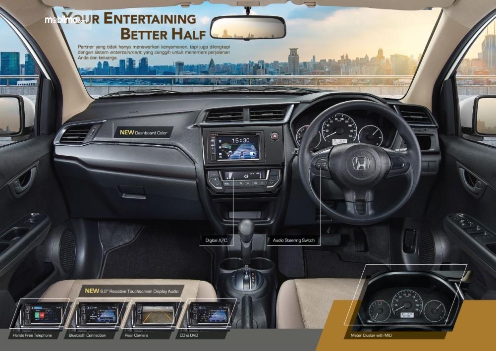 Gambar menunjukkan Ringkasan Fitur Keselamatan New Honda Mobilio E CVT 2019 d7232b583a