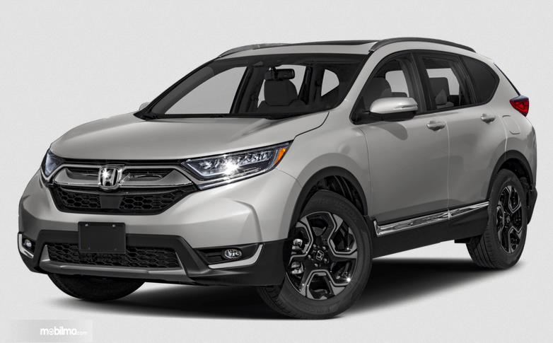 Gambar ini menunjukkan bagian depan All New Honda CR-V 2.0 2019 dan samping kiri