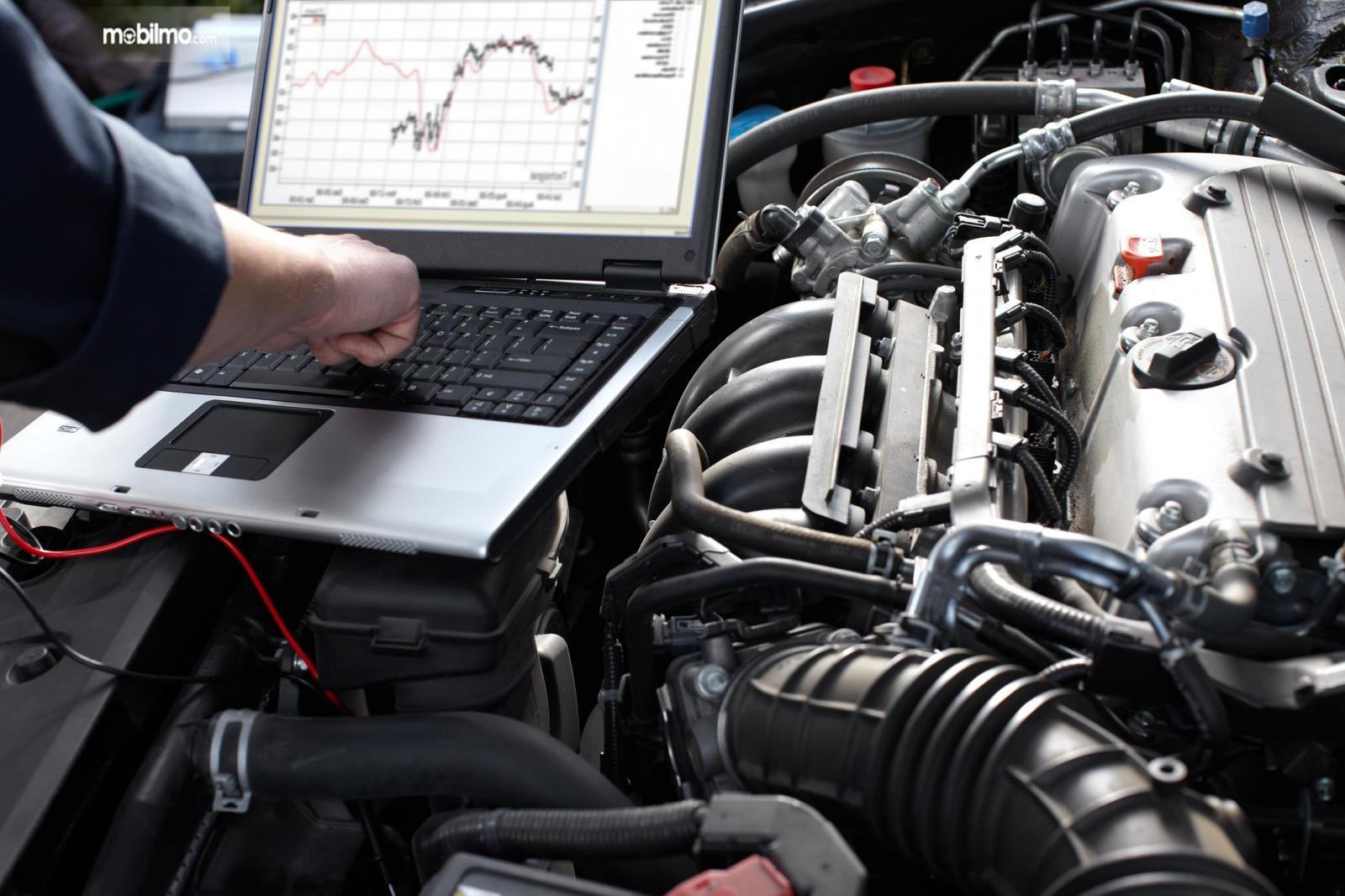 Gambaran diagnosis kondisi kendaraan